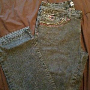 Rocawear blk denim jeans